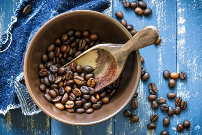 Grains, Nuts and Coffee
